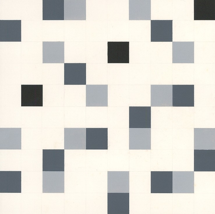 Keith Richardson-Jones  Untitled - Systems III, 1978  Gouache on paper  20 x 20 cm