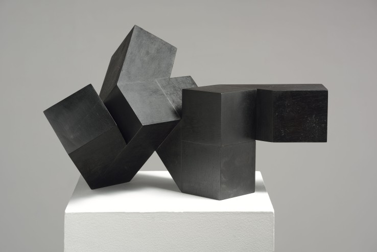 Norman Dilworth  4 x 2 ½ 14, 2012  Wood stained black  44 x 27 x 27 cm