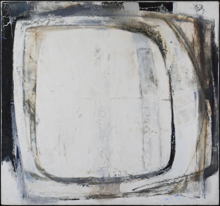 Porthledden Deep Blue  1962  Oil on canvas laid on wood  91 x 96 cm