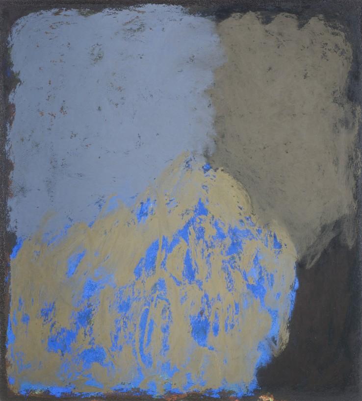 Vita Infinita 29A  2018  Pastel on board  34 x 31 cm