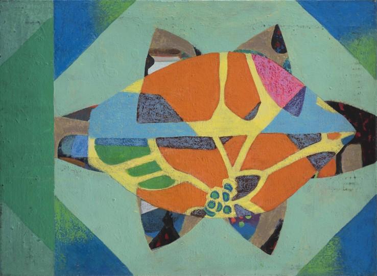 Eileen Agar  Magnolia, 1980  Acrylic on canvas