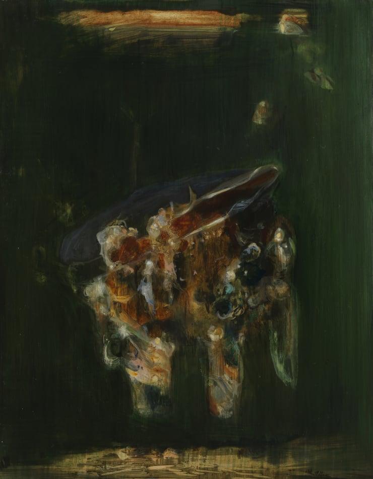 Pippa Gatty Cast, 2017 Oil on linen on board 22 x 28 cm