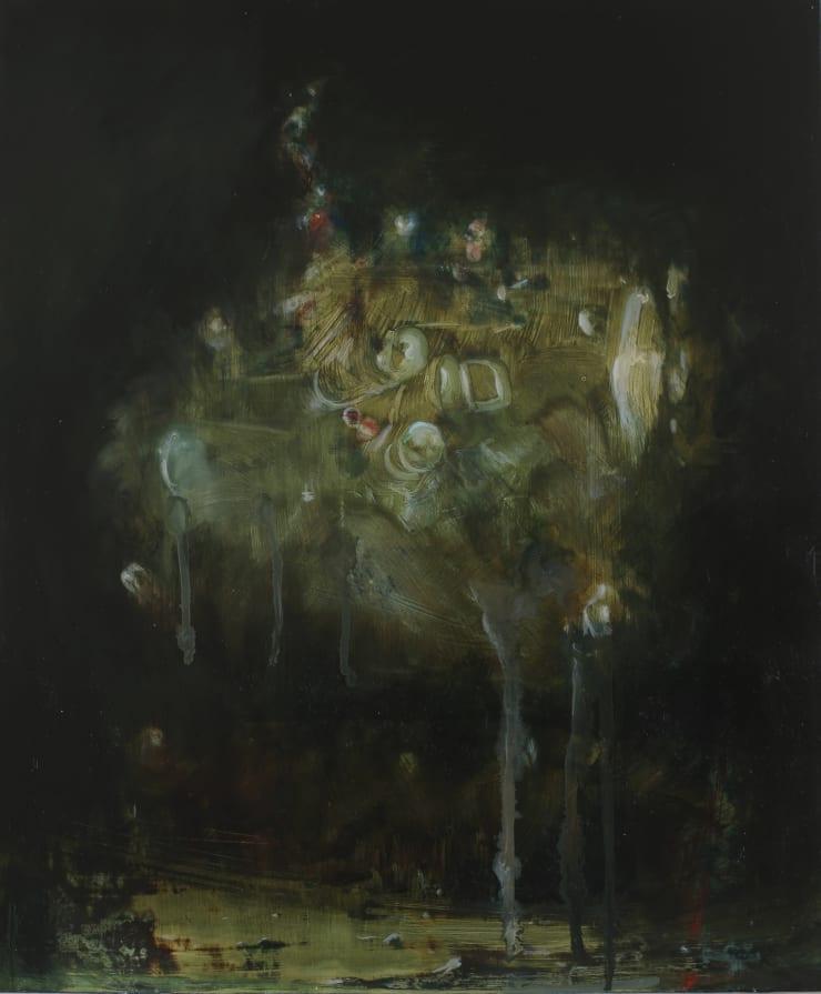 Pippa Gatty Syrinx, 2016 Oil on linen on board 38 x 33 cm