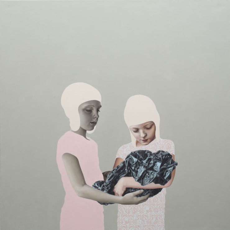Pippa Young Self-abnegation, 2016 Oil on canvas 47 1/5 × 47 1/5 in 120 × 120 cm