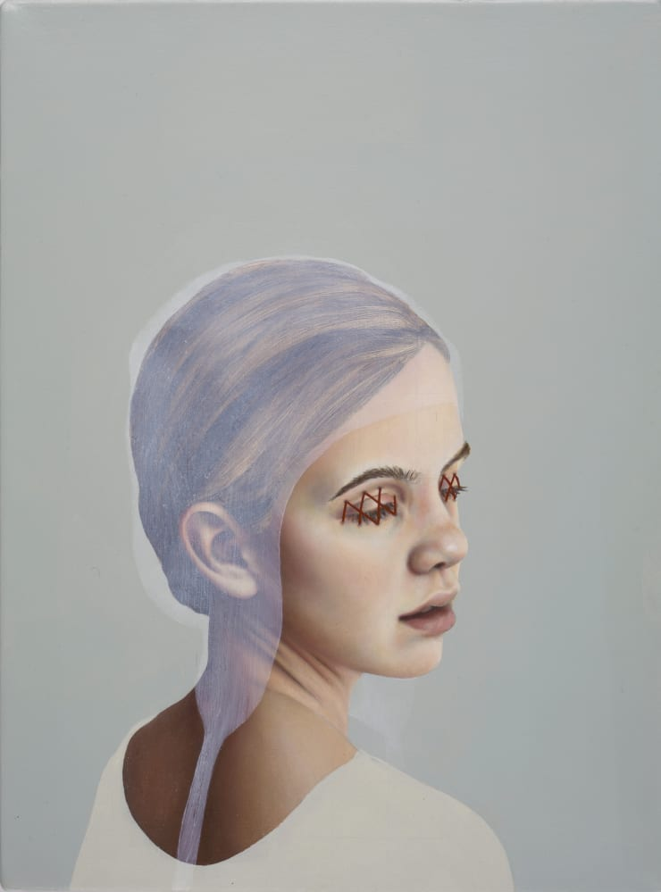 Pippa Young The Heart Grieves, 2017 Oil on canvas 12 3/5 × 9 2/5 in 32 × 24 cm