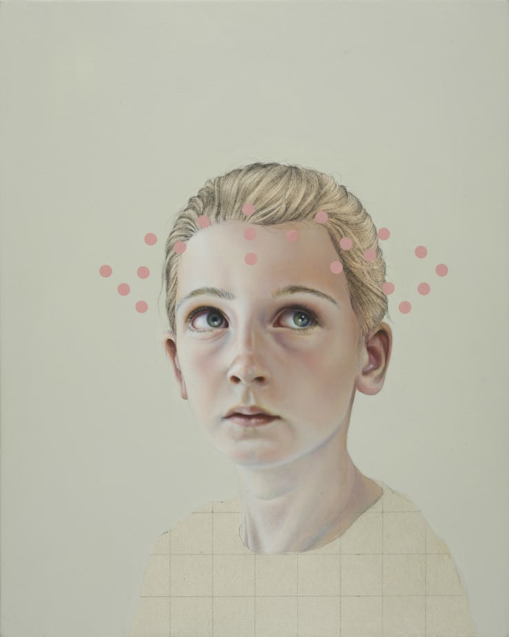 Pippa Young Another form of reality Oil on panel 11 4/5 × 9 2/5 in 30 × 24 cm