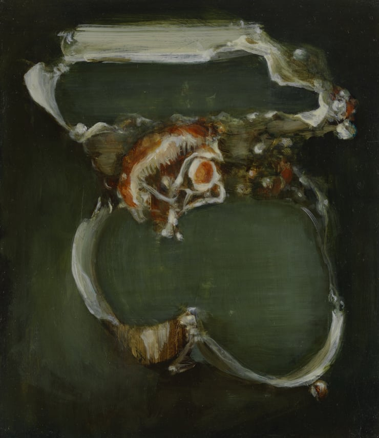 Pippa Gatty Lunga, 2017 Oil on linen on board 30 × 25.8 cm