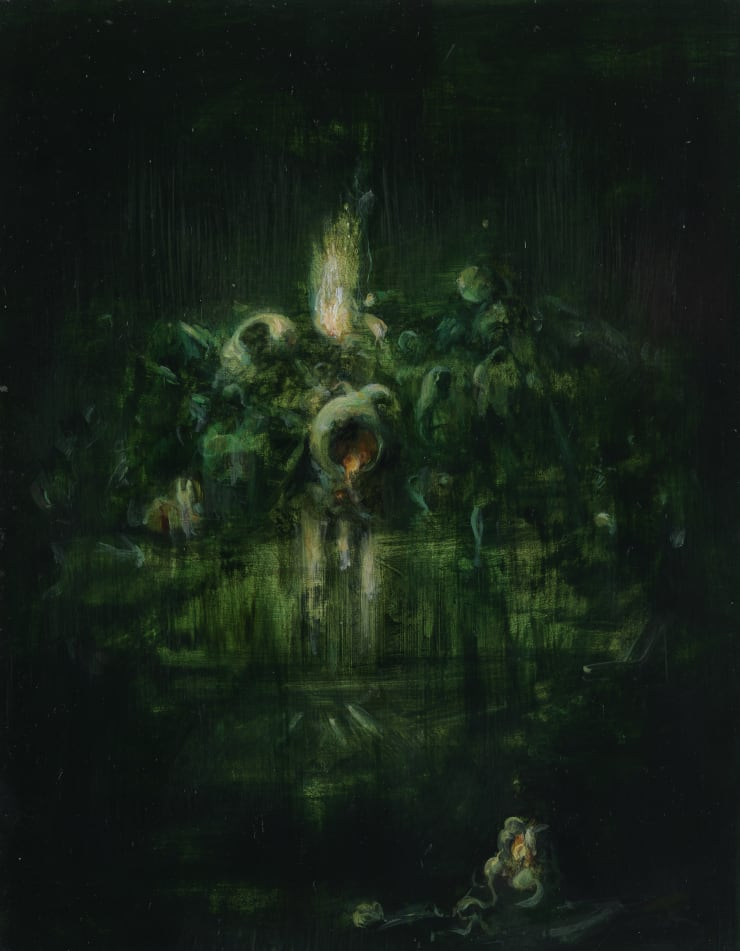 Pippa Gatty Silvi, 2017 Oil on linen on board 28 x 21.5 cm