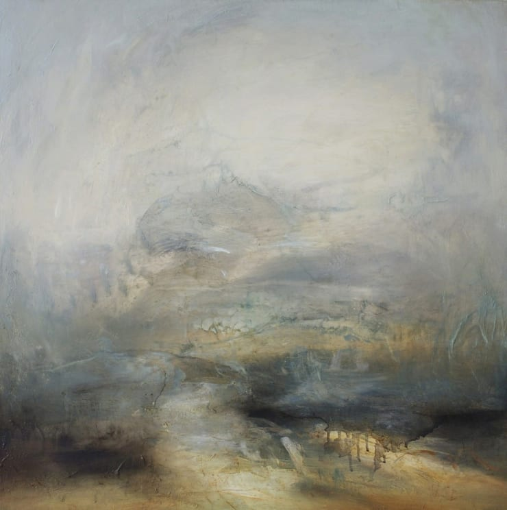 Mark Johnston Passage oil on linen 27 3/5 × 27 3/5 in70 × 70 cm
