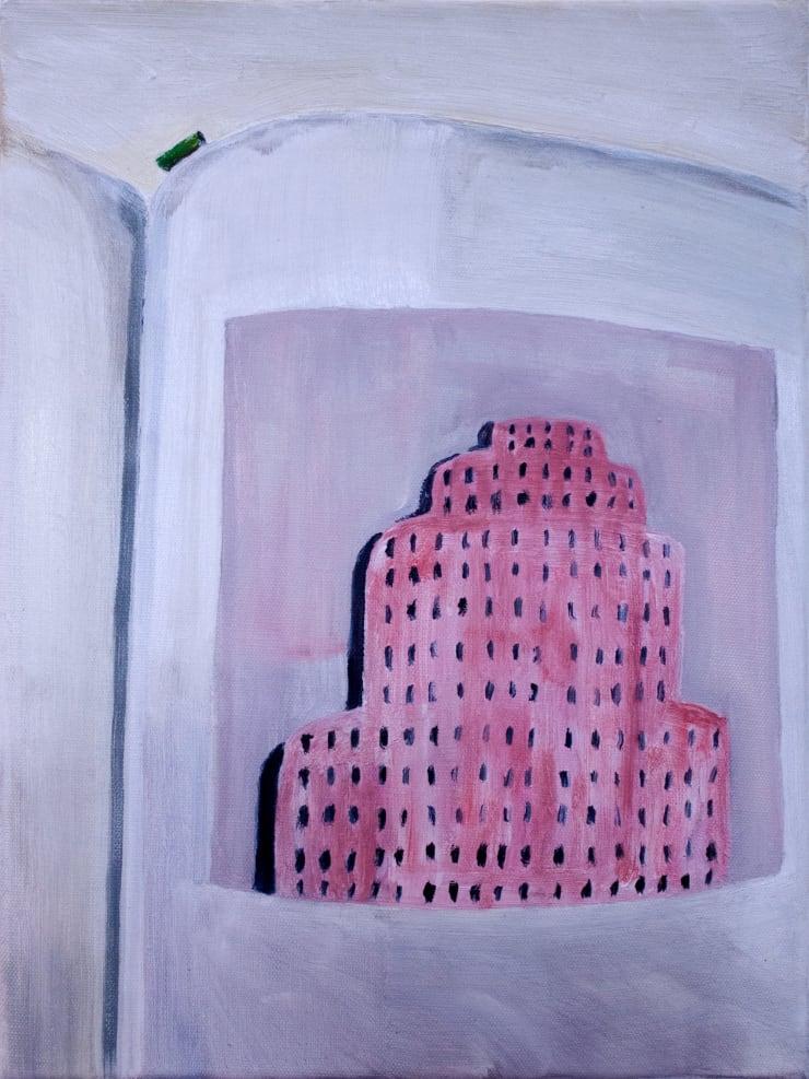Lara Davies 'Untitled' from 'Philip Guston Retrospective', 2019 oil on canvas 40 x 30 cm