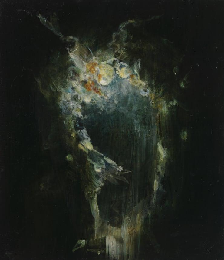 Pippa Gatty Rutt, 2017 Oil on linen on board 29.8 x 26 cm