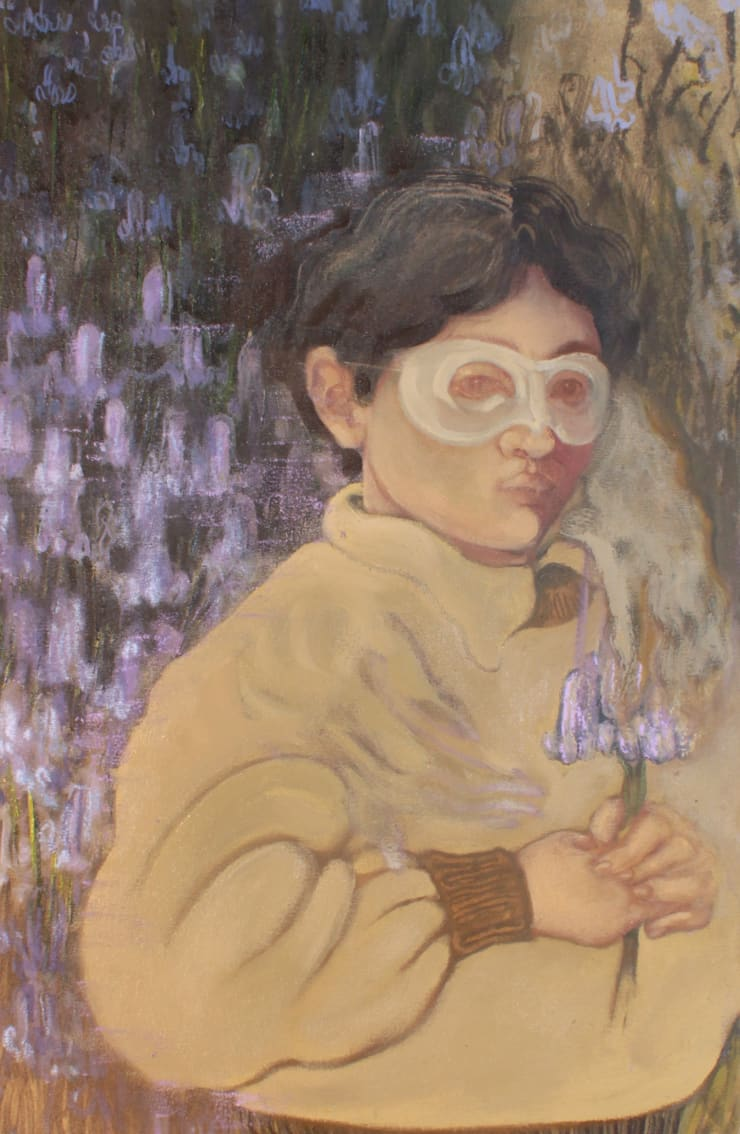 Plum Cloutman Auld Man's Bell, 2019 oil on canvas 60 x 40 cm