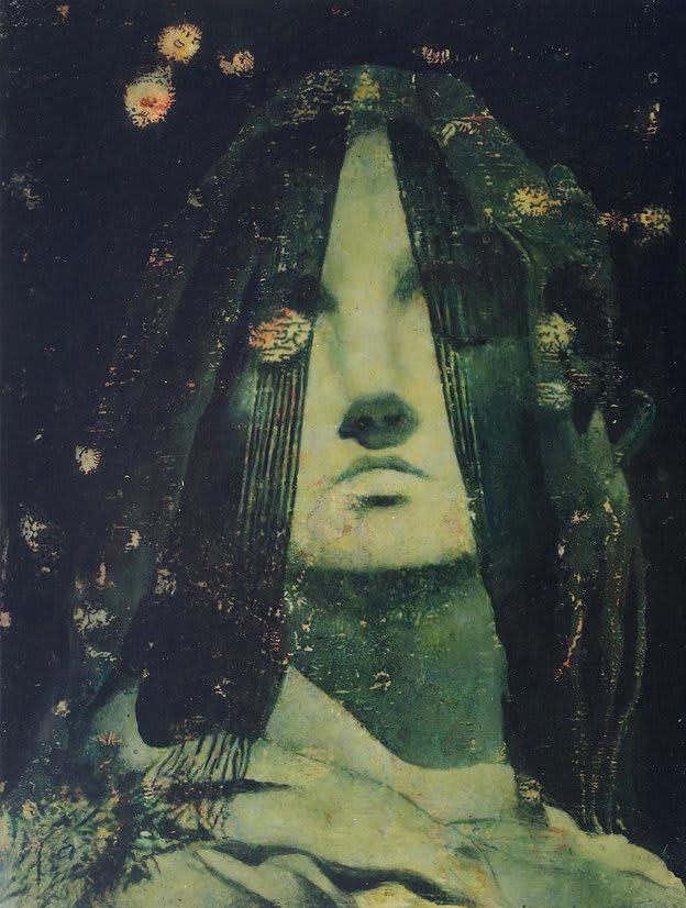 Fiona Finnegan Memorial oil and acrylic on board 11 4/5 × 15 7/10 in30 × 40 cm