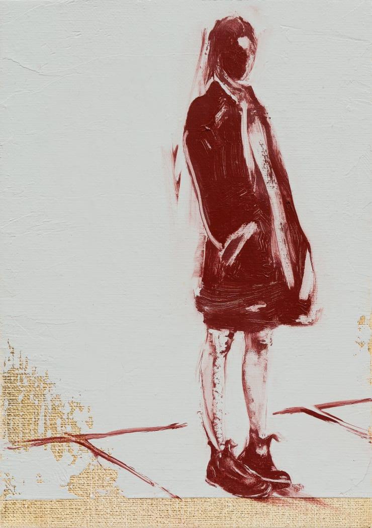 Shelly Tregoning Twisty Feet, 2019 Oil on linen 25 x 18 cm