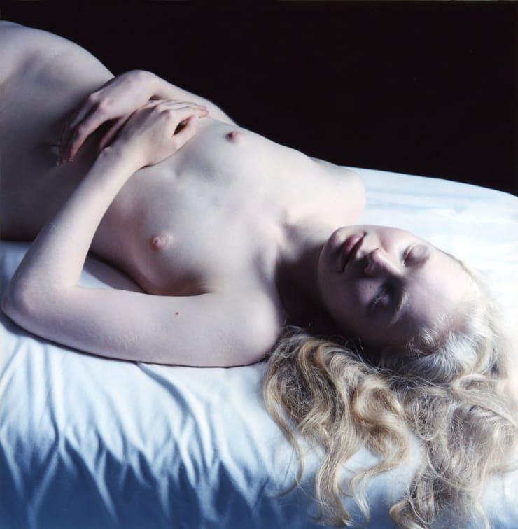 Carla van de Puttelaar C-print, mounted on dibond, black wooden frame and art glass 29 9/10 × 29 1/2 in 76 × 75 cm