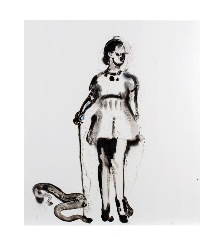 Ilona Szalay I'm Sorry That You Suffer, 2018 Oil on aluminium 70 x 60cm
