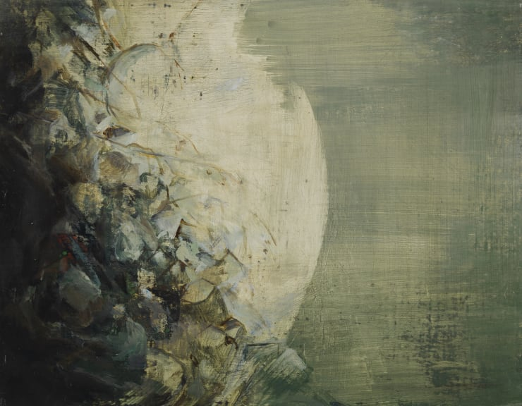 Pippa Gatty Moth Breath, 2015 Oil on linen on board 22 x 28 cm