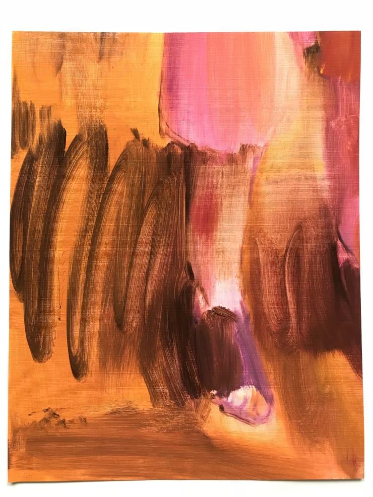 Lindsey Bull Sunset Feet, 2018 Oil on canvas 36 x 28 cm