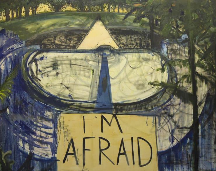 Blair McLaughlin I'm Afraid, 2017 Oil on canvas 63 × 78 7/10 in 160 × 200 cm