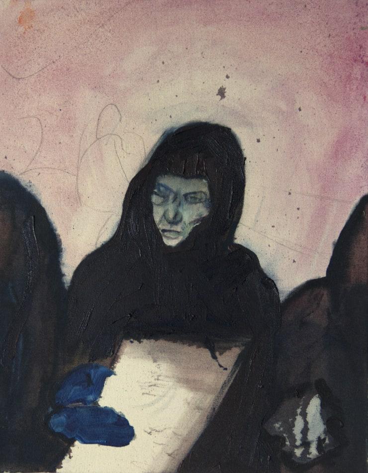 Blair McLaughlin Bahrain I, 2016 Oil on canvas 16 9/10 × 13 in 43 × 33 cm