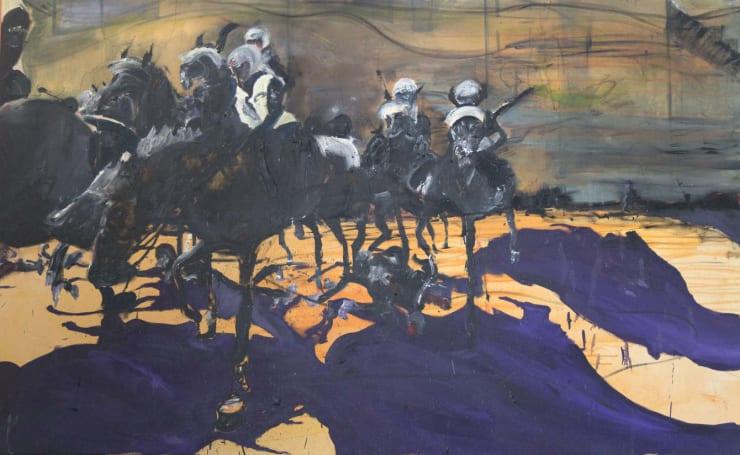 Blair McLaughlin Perpetual, 2017 Oil on canvas 102 2/5 × 63 in 260 × 160 cm