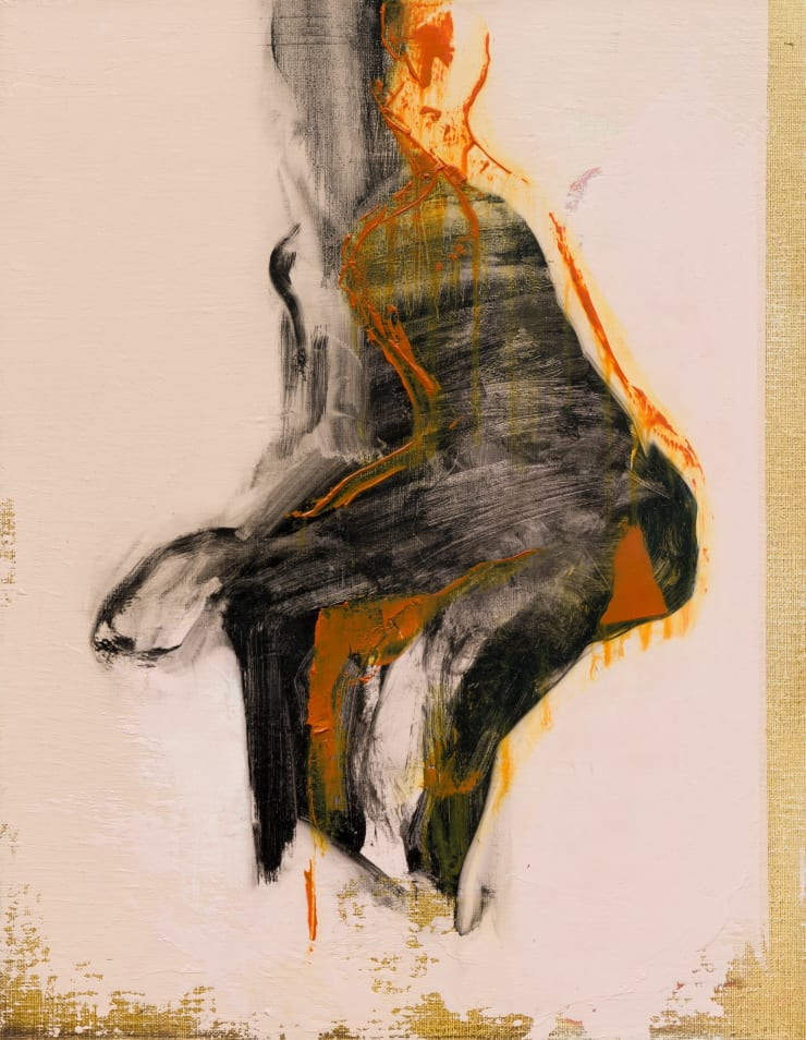 Shelly Tregoning A Slight Separation, 2019 Oil on linen 46 x 35 cm