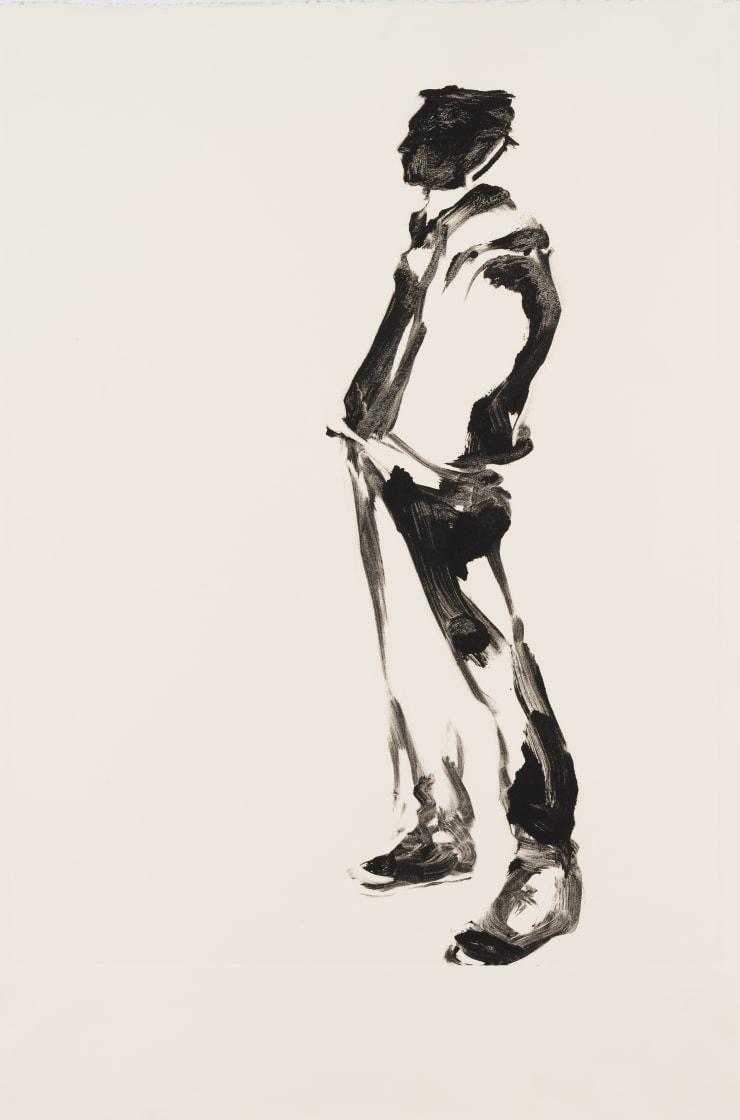 Shelly Tregoning Second Chance, 2019 Monoprint 53.5 x 38 cm