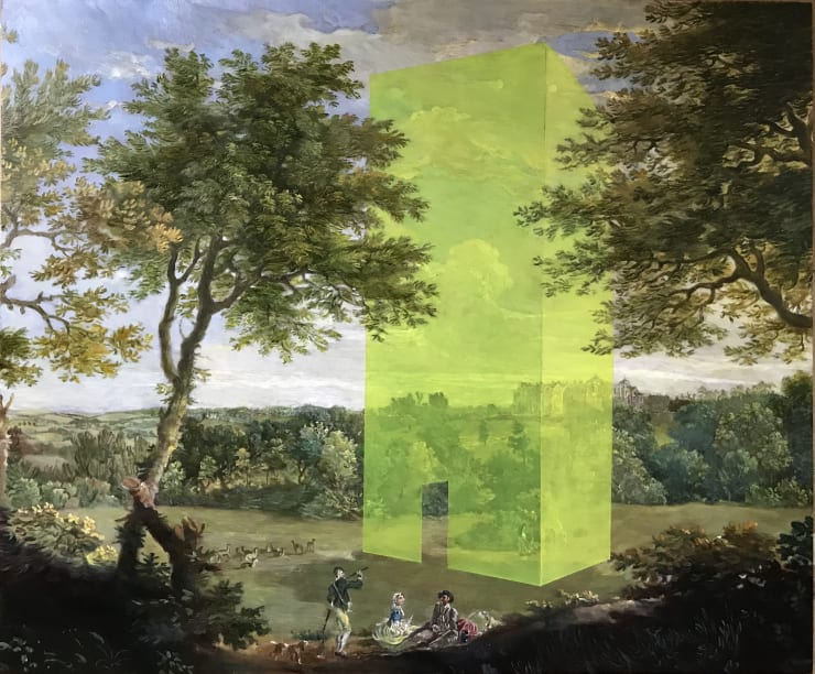 Morwenna Morrison Future's Folly, 2019 Oil on canvas 60 x 50 cm