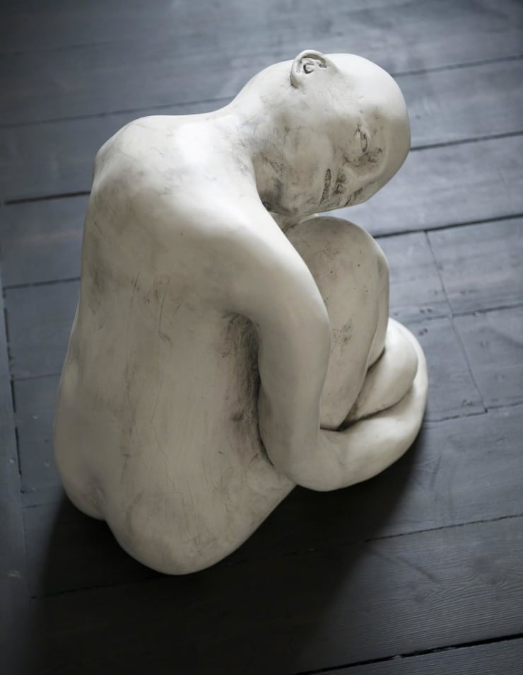 Hamish Pearch How things hold together jesmonite 19 7/10 × 19 7/10 × 27 3/5 in50 × 50 × 70 cm