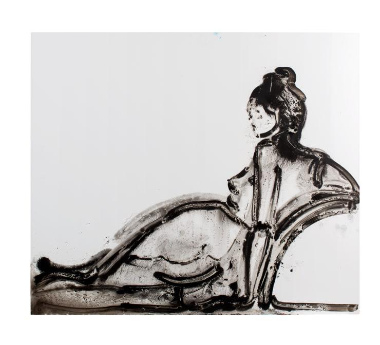 Ilona Szalay Empress, 2018 Oil on aluminium 60 x 70cm