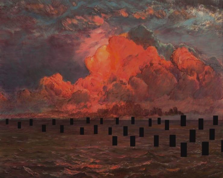 Morwenna Morrison Wind, Steam, Change, 2019 40 x 50cm