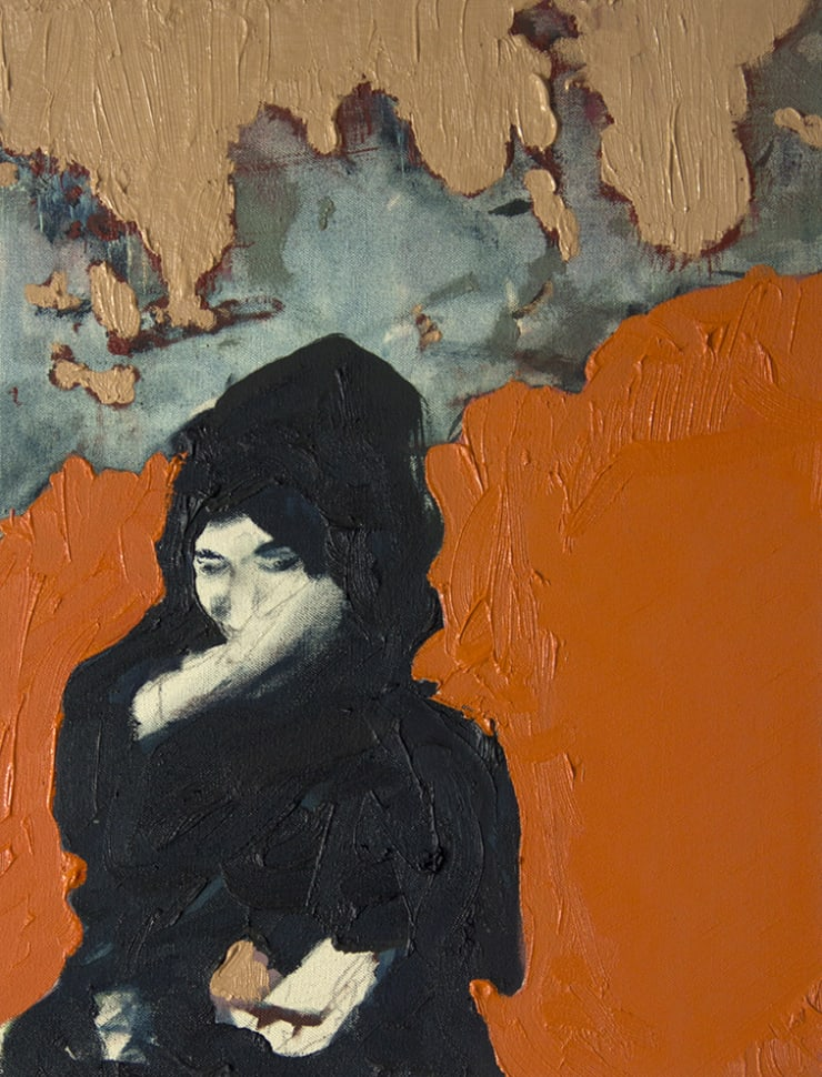 Blair McLaughlin Bahrain II, 2016 Oil on canvas 16 9/10 × 13 in 43 × 33 cm