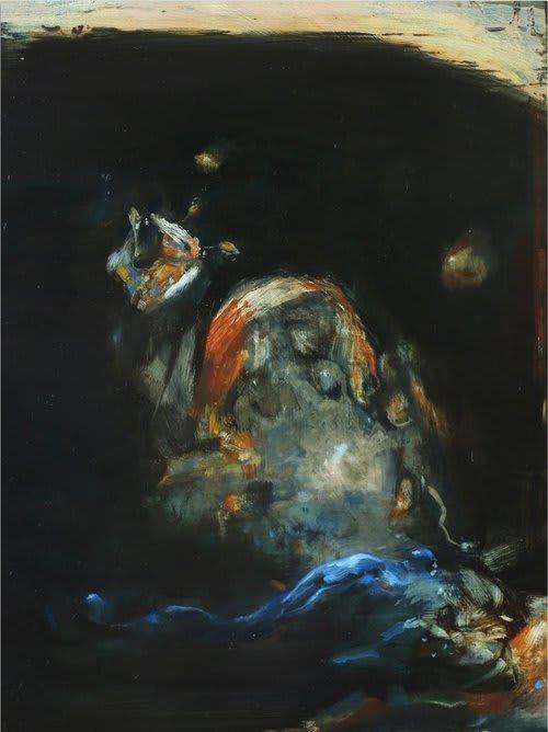 Pippa Gatty Rhubb, 2016 Oil on linen on board 28 x 21.8 cm