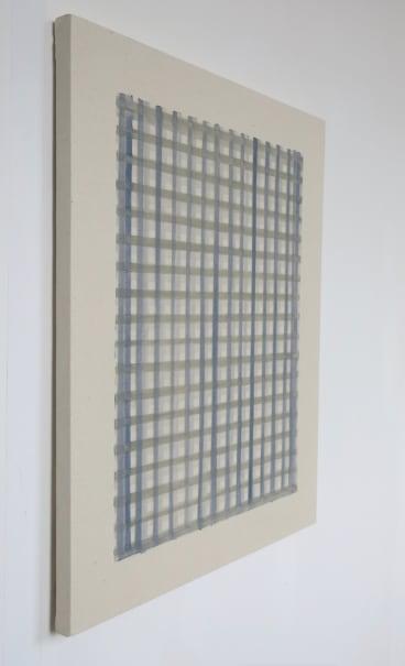 Eleanor McCullough Payne's Grey on Davy's Grey No. 6, 2017 Oil on canvas 61 x 76cm