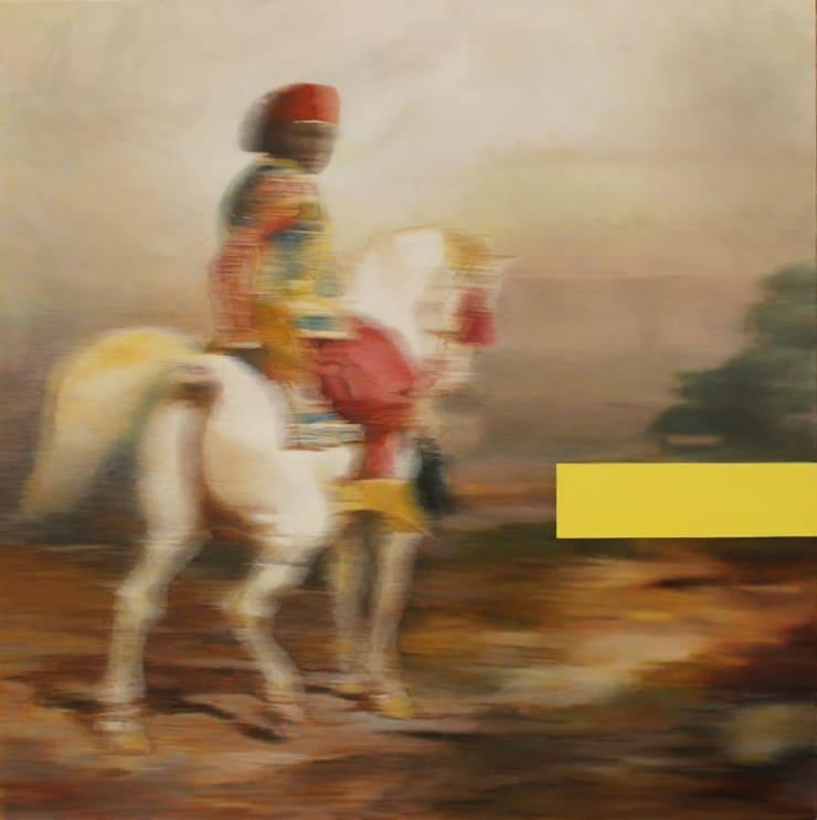 Morwenna Morrison The Eternal Return, 2017 oil on canvas 35 2/5 x 35 2/5 in90 x 90 cm