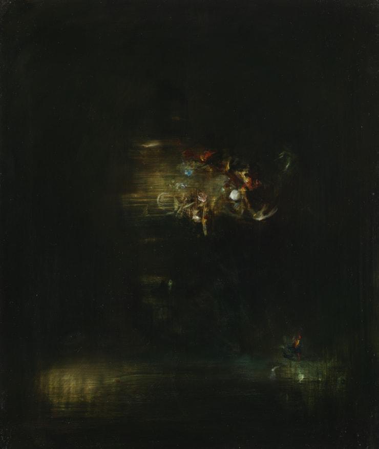 Pippa Gatty Choro, 2017 Oil on linen on board 37 x 44 cm