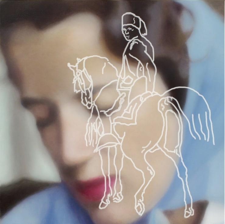 Morwenna Morrison A la Recherche du Temps Perdu, 2018 Oil on canvas 35 2/5 × 35 2/5 in 90 × 90 cm