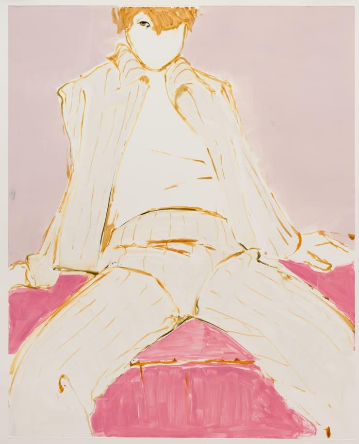 Shelly Tregoning Pretty in Pink, 2019 Monoprint 112 x 91 cm