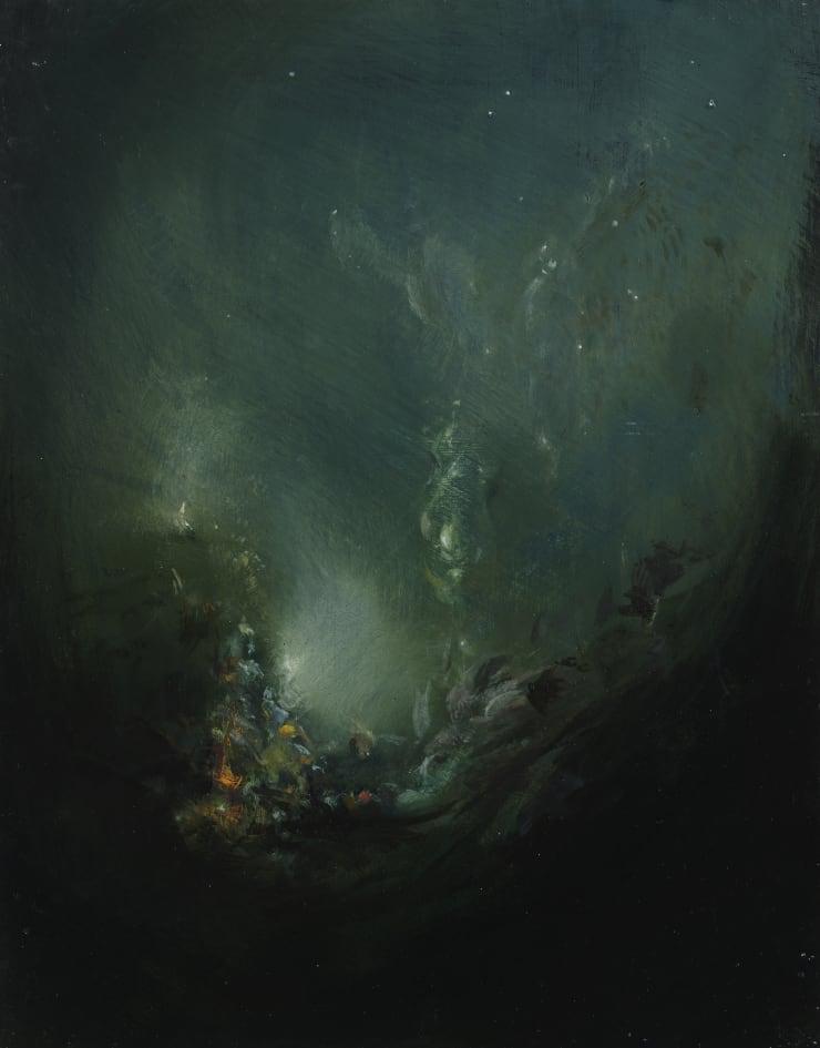 Pippa Gatty Mistaken, 2015 Oil on linen on board 21.8 x 27.8 cm