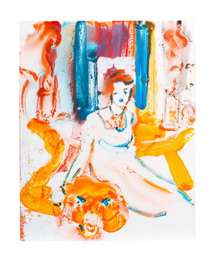 Ilona Szalay Otto, 2018 Oil on aluminium 50 x 40 cm