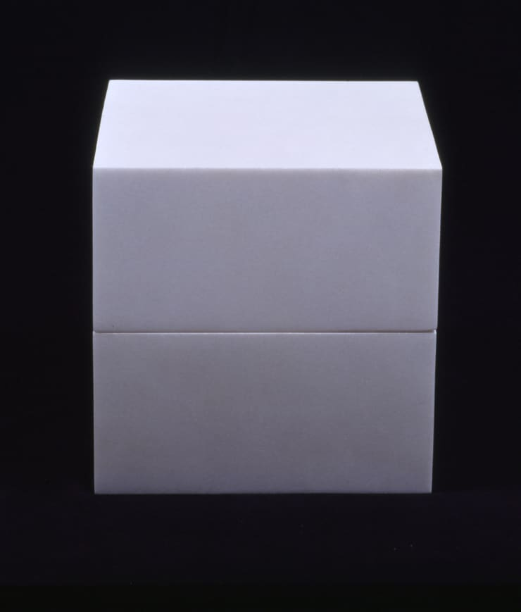 James Lee Byars, The Cube Book, 1989