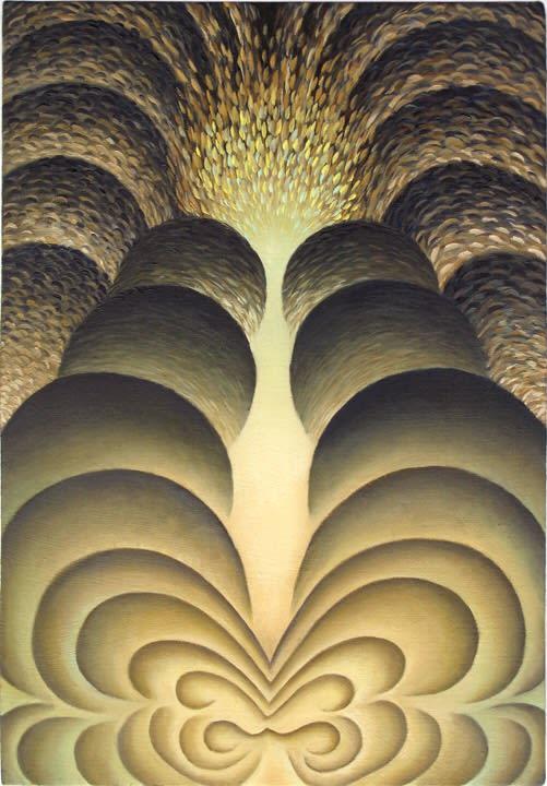 Loie Hollowell, Subterranean Eruptions, 2014