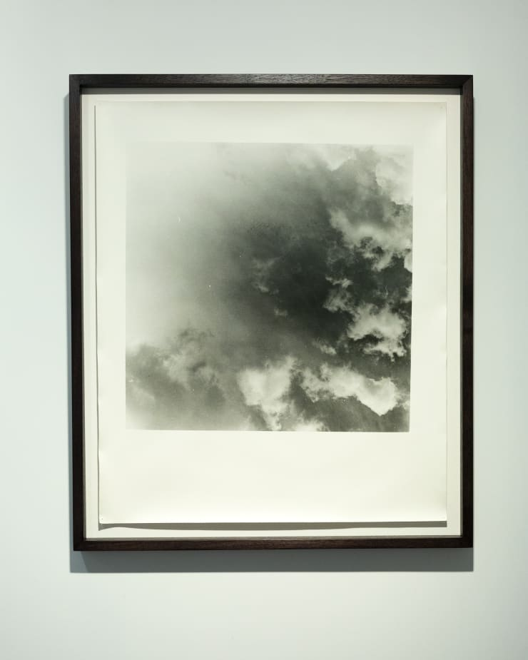 Anthony Hodgkinson When Light Leaves, The Dark Sees III, 2018 Silver gelatin handprint on fibre-based paper 60.9 x 50.8 cm 24 x 20 in