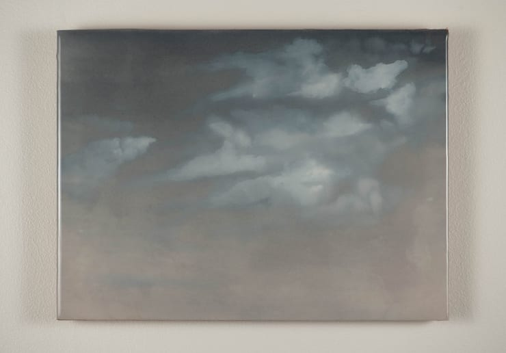 Todd McMillan Cloud Study LXII, 2019 Watercolour on cotton watercolour paper on plywood, epoxy 28 x 38 cm 11 1/8 x 15 in