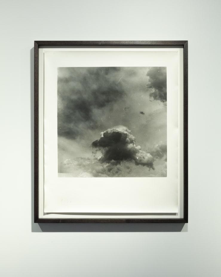 Anthony Hodgkinson When Light Leaves, The Dark Sees II, 2018 Silver gelatin handprint on fibre-based paper 60.9 x 50.8 cm 24 x 20 in