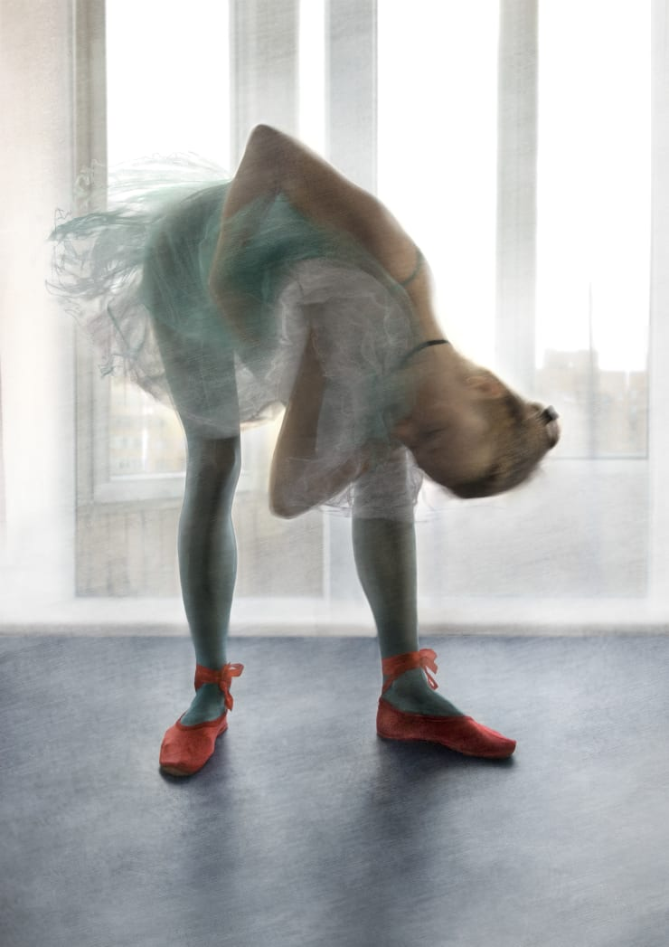 Katerina Belkina For Degas, 2007 Archival Pigment Print 40 x 28 cm 15 3/4 x 11 1/8 in Edition of 15 plus 2 artist's proofs Series: Paint