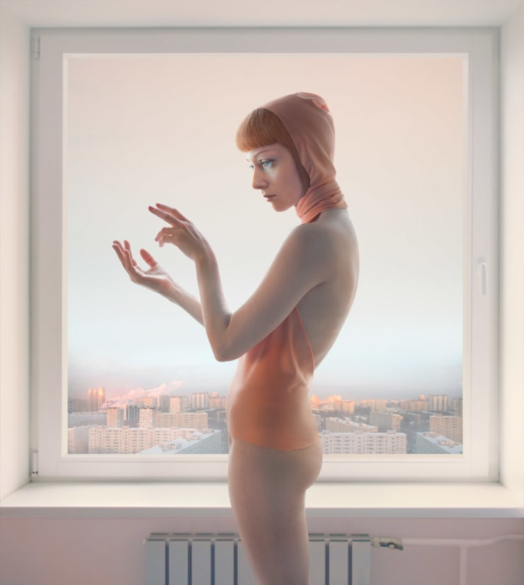 Katerina Belkina Morning Message, 2010 Archival Pigment Print 110 x 98 cm 43 1/4 x 38 5/8 in Edition of 9 plus 2 artist's proofs Series: Empty Spaces