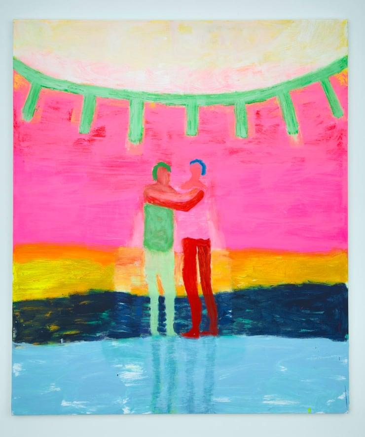 Katherine Bradford Under the Sun, 2018 Acrylic on canvas 80 x 68 in 203.2 x 172.7 cm