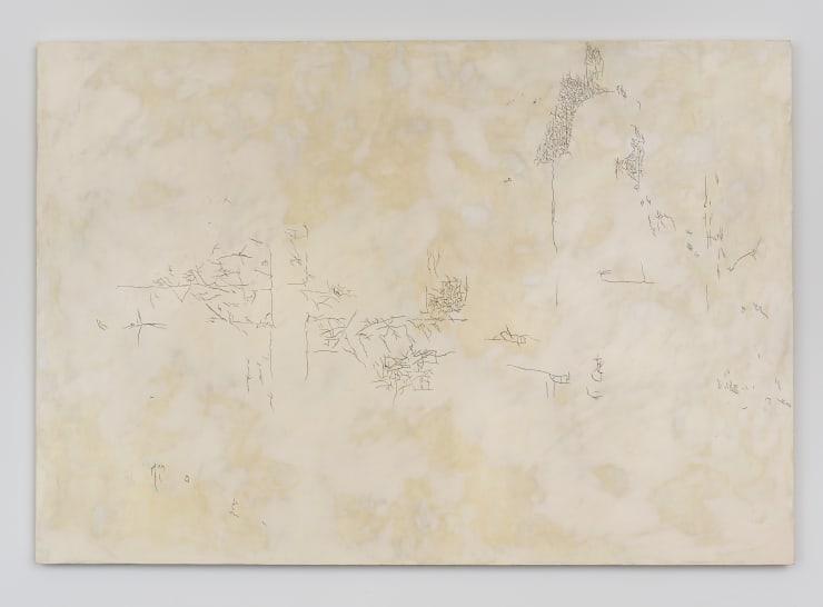 Carlos Vela-Prado Olympia, 2013 Wood, graphite, acrylic and plaster composite 48 x 33 in 121.9 x 83.8 cm
