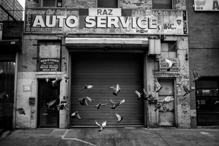 PHIL PENMAN, Raz Auto Service, New York, 2019
